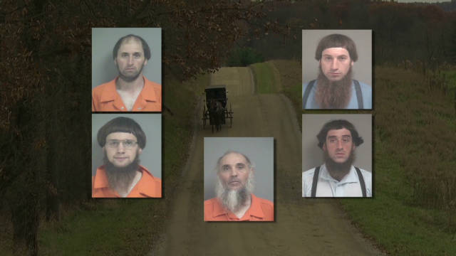 Group allegedly tied to Amish attacks