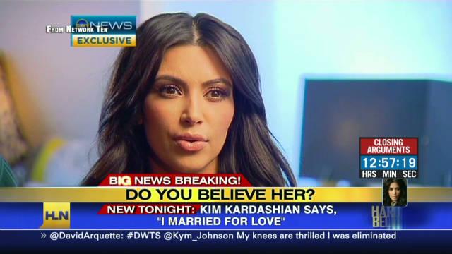 Kardashians deny wedding stunt
