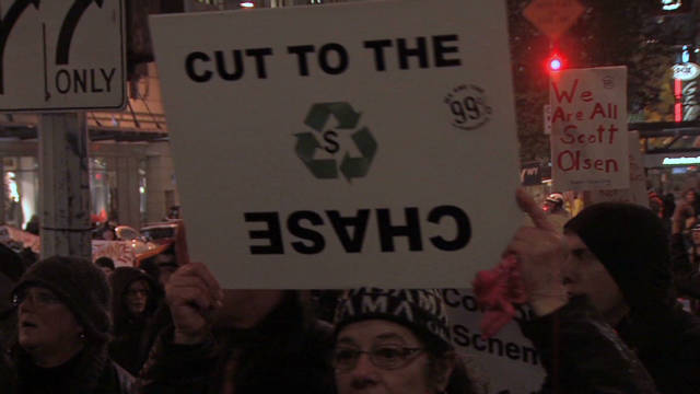 Occupy Seattle seeks to 'arrest' CEO