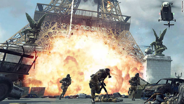 """Call of Duty: Modern Warfare 3"" places gamers in a near-futuristic global war across multiple fronts, including Paris."