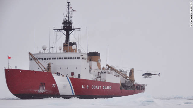 The U.S. Coast Guard cutter Polar Sea has also exceeded its 30-year design life.