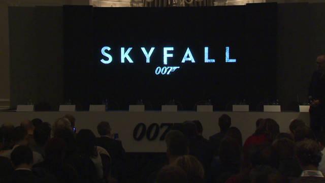 2011: 007's return revealed in London