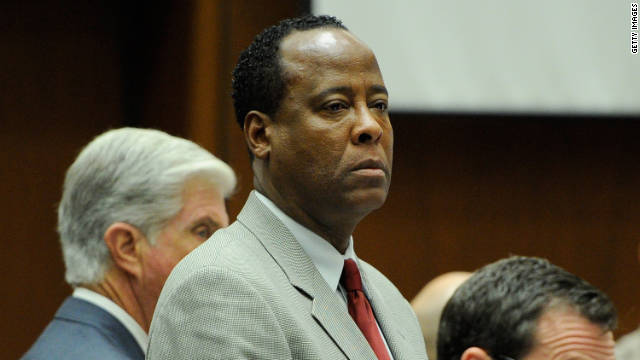 Conrad Murray November 3