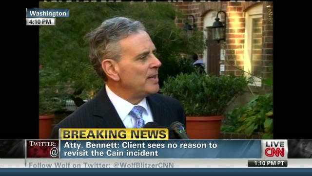 Attorney: Cain claims 'inaccurate'