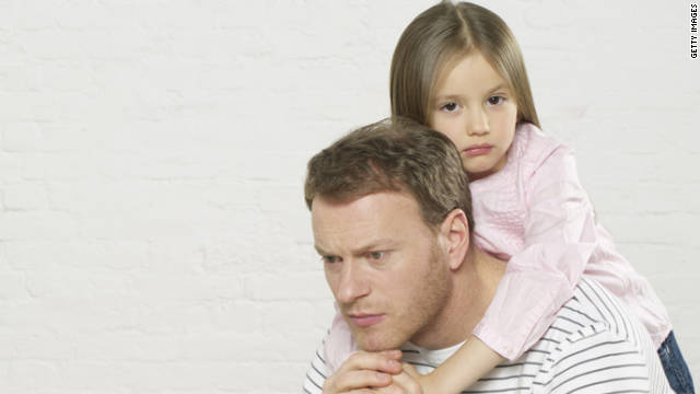 A child's odds of developing emotional problems increase by as much as 70% if the father shows signs of depression.