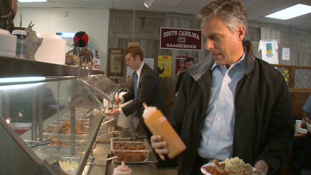 Former Utah Gov. Jon Huntsman has a rare chance at the debate to highlight his foreign policy experience.