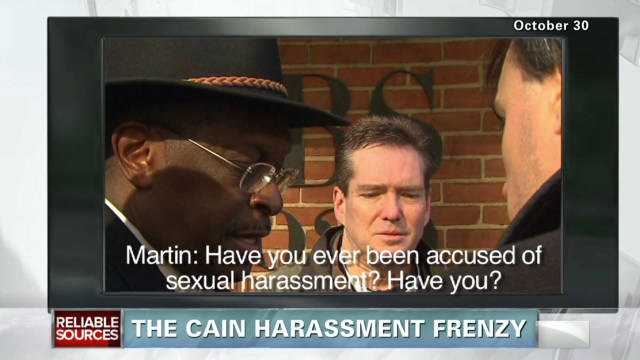 The Cain harassment story frenzy