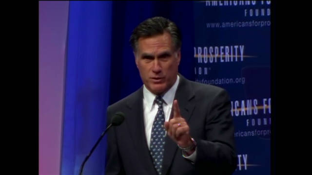 Romney's plans to cut government