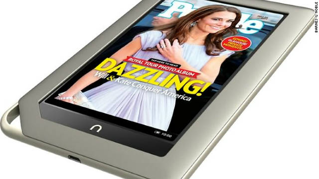 Barnes & Noble's Nook tablet device will cost $249 and go on sale November 16.