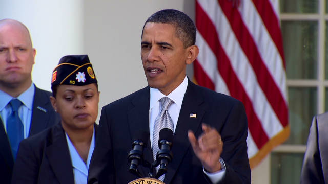 Obama pushes for veteran job initiatives