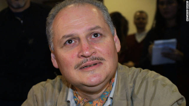 Venezuelan terrorist Illich Ramirez Sanchez known as 'Carlos the Jackal' makes a court appearance in Paris in November 2004.