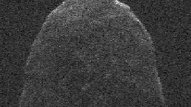 Earth's close encounter with an asteroid