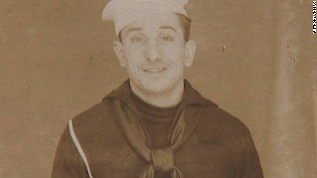 Anthony Snetro served as a machinist in the Navy during World War II.