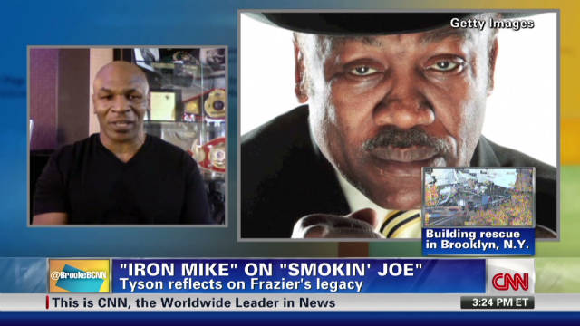 'Iron Mike' reflects on 'Smokin' Joe'