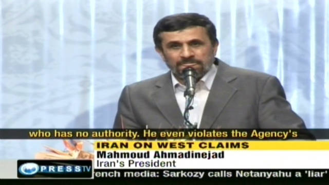 Ahmadinejad: Look at U.S. nuclear arms