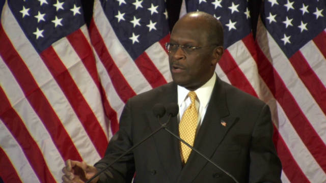 Cain: I've never acted inappropriately