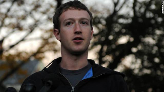 Mark Zuckerberg speaks at Harvard University November 7, 2011 in Cambridge, Massachusetts.