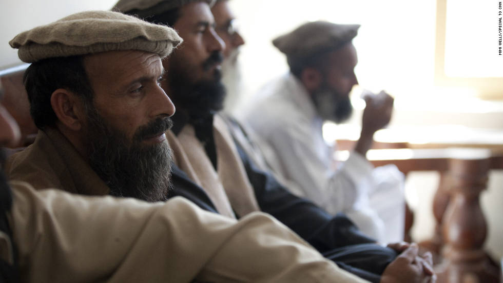 "At the Nishigam district center, another part of the mission begins: to continue to build good will among the villagers. Village elders attend the shura led by Afghan security forces and 2-27's battalion commander, Lt. Col. Dan Wilson. He encourages the tribal leaders to work together to push the Taliban from the area. ""Americans won't be here forever,"" he tells them."