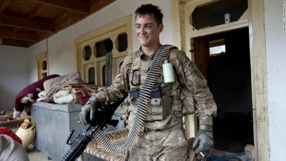 Spc. Samuel Stratton also was involved in the firefight. Soldiers with the Forward Operating Base Bostick have fired more artillery than any other unit in Afghanistan, they say.