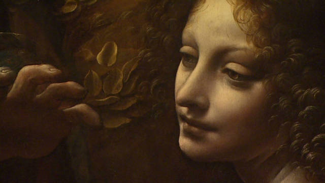 Leonardo's rare paintings on exhibition