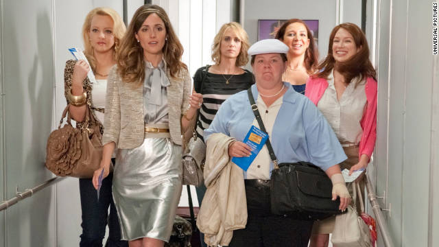 "Box office hit ""Bridesmaids"" raked in more than $169 million domestically."
