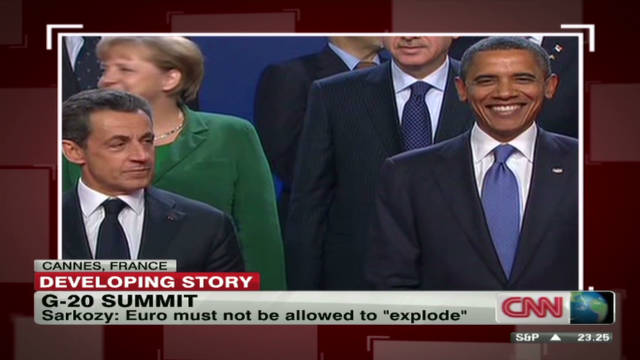 Reporting on G-20 turns focus to Greece
