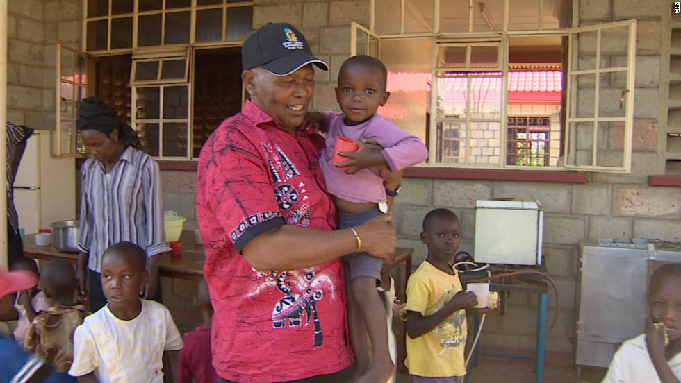 Upon finishing retiring from athletics, Keino turned his attention to another of his passions -- philanthropy. Alongside his wife, Phyllis, he opened an orphanage in Kenya's Rift Valley.