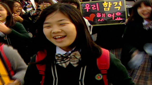 South Korea students take massive test