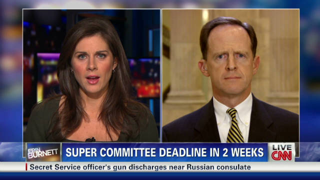 Sen. Pat Toomey on a tax and debt deal