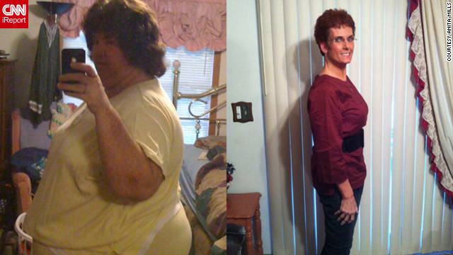 Anita Mills lost 242 pounds by telling no one that she was on a diet.