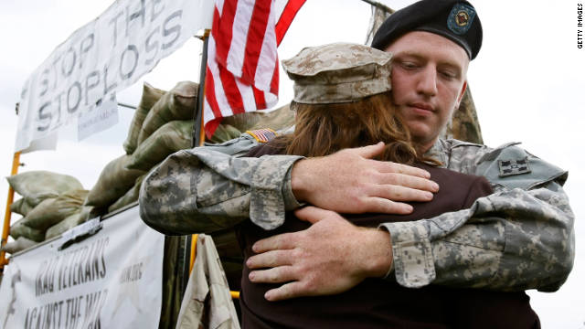 Americans on Veterans Day should remember that cutting benefits would only add to troops' stress, Jonathan Raab says.