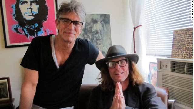 """Actor Eric Roberts, left, calls sobriety counselor Bob Forrest """"Mr. Funky."""""""