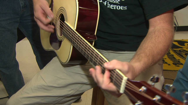 Music therapy for veterans with PTSD