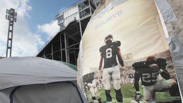 PSU preps for first game since scandal