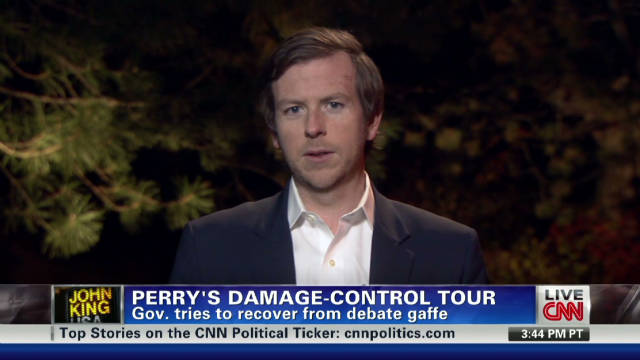 Perry's damage control tour