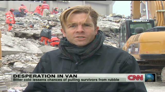 Turkey's earthquake victims struggling