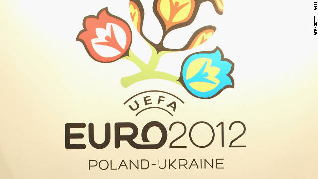 The Euro 2012 finals' co-hosts Poland and Ukraine have been named among the top seeds.