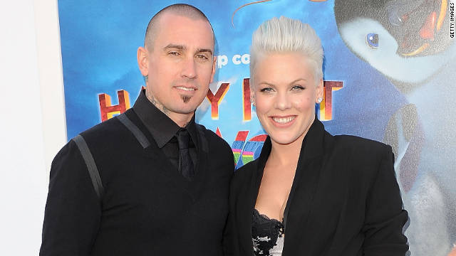 Pink and husband Carey Hart have a 5-month-old daughter Willow Sage.