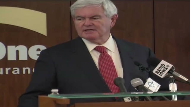 Gingrich blasts super committee