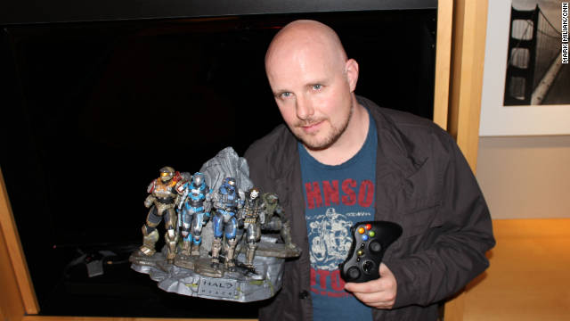 "Frank O'Connor, with 343 Industries, is given the final say on the storylines of ""Halo"" games and books."