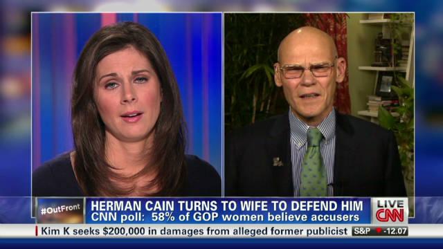 Gingrich rises, Cain falls in CNN poll