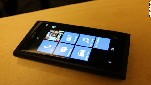 The Lumia 800 is Nokia's first Windows Phone, which comes after the major partnership with Microsoft.