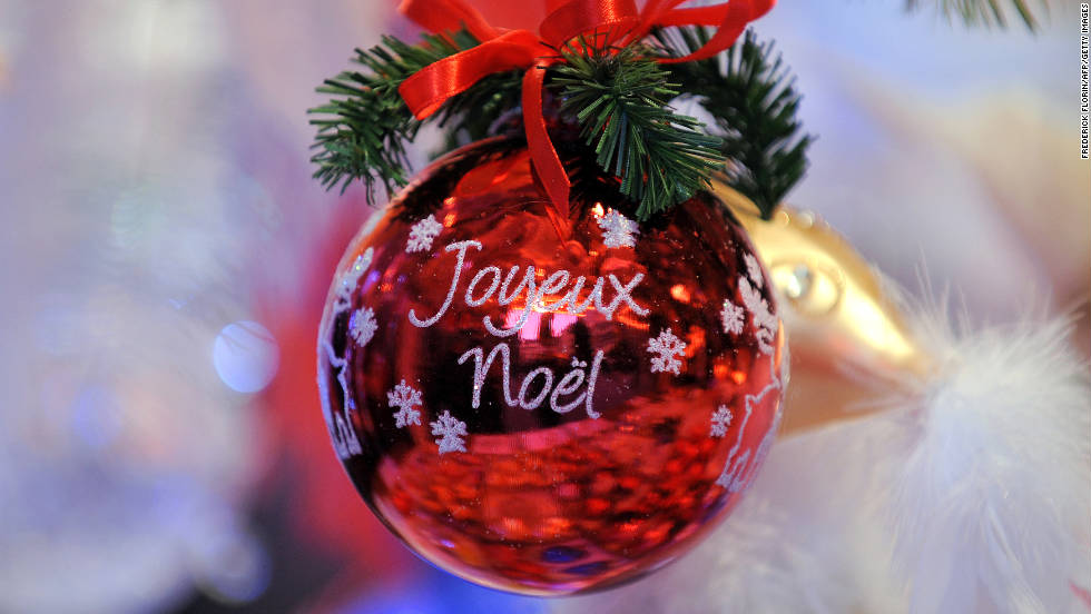 Festive Christmas decorations, crafts, food stalls and warm mulled wine welcome visitors to the Strasbourg market.
