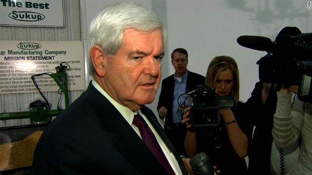 Gingrich surges in the polls