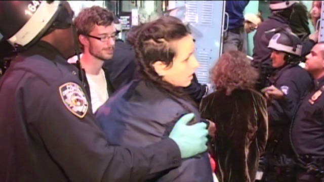 Occupy Wall Street protesters evicted