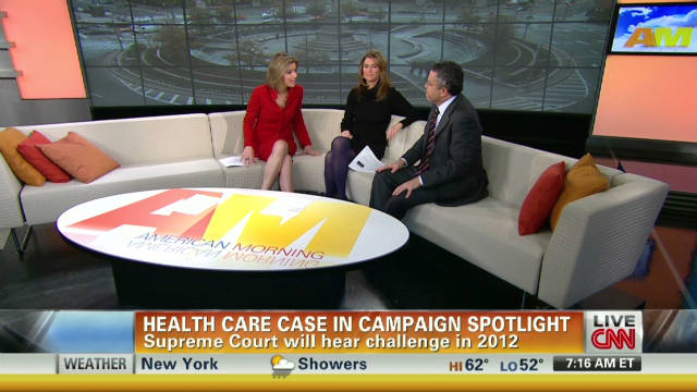 Health care case in campaign spotlight