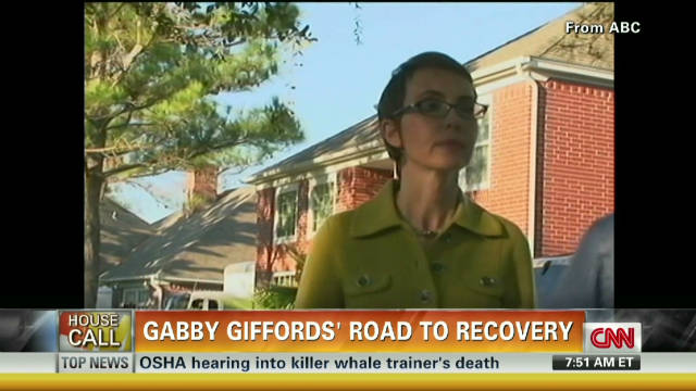 Gabby Giffords' road to recovery