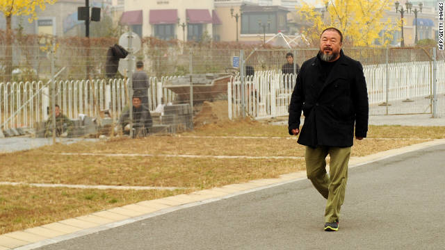 Ai Weiwei posts tax bill online