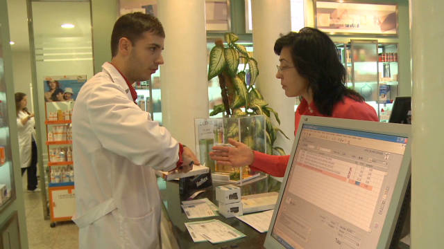 Austerity hits Spanish pharmacies