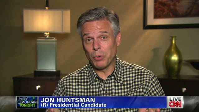 Jon Huntsman on lagging poll numbers